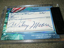 2013 BRONX EDITION WILCY MOORE AUTOGRAPH #ERD 1/1 SEALED IN CASE