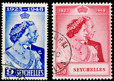 SEYCHELLES SG152-153, COMPLETE SET, FINE USED, CDS. Cat £48.
