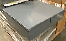 """24"""" x 24"""" x 6"""" Pull Box with Hinged Cover"""