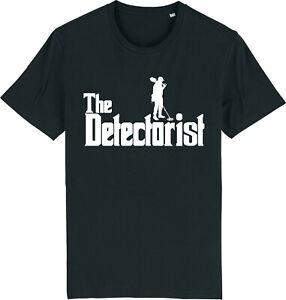 THE DETECTORIST Metal Detecting Detector Treasure Hunter T-Shirt