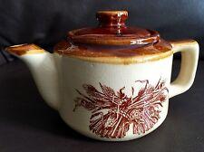 Fantastic Quality Antique Edwardian Heavy (770g) English Stoneware Teapot