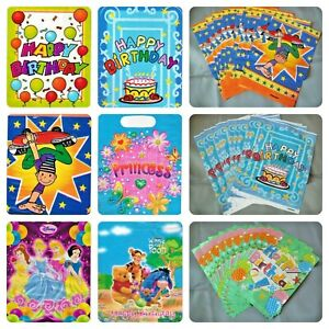 Children Party Bags Pack of 12/10/4  Birthday Loot Treat Favour Goody Kid
