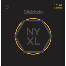 D'ADDARIO NYXL1046-3P NICKEL WOUND ELECTRIC GUITAR STRINGS - 3 PACK, REG LIGHT