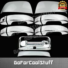 2015-18 For Chevy Colorado Mirror+4door W/O Psgkh+Tailgate W/kh Chrome Cover