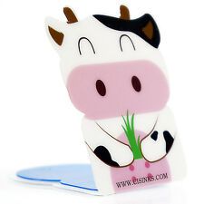 Smart Phone Mount Holder Stand Reusable Washable Magic Sticker Cow
