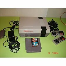 Nes System: Video Game Console Bundle Zapper Gun And Game Model Nes-001 6Z