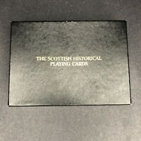 The Scottish Historical Playing Cards 2 Full Decks-Vintage-No Jokers