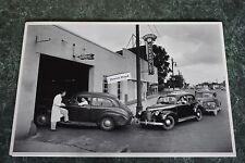 "1940 Chevrolet Emmert Service Department 12 X 18"" Black & White Picture"