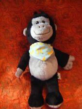 NUOVO * Safari Gorilla maschio plastica solida giocattolo Wild Zoo Animale Scimmia Monkey