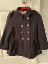 BURBERRY GIRLS WOOL CASHMERE COAT 6 Y