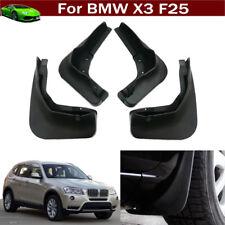 4pcs Car Mud Flaps Splash Guard Fender Mudguard Mudflap For BMW X3 F25 2011-2018
