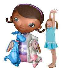 "46"" Doc McStuffins Air-Walker Giant Gliding Mylar Balloon Birthday Party Supply"