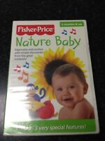 Nature Baby DVD-NEW-Fisher Price-Free Shipping 60m-Baby Development Collection