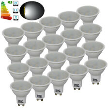 20x 4W GU10 LED Spotlight Bulb Lamp Daylight Equals 35W-40W Halogen Light Bulbs