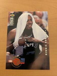 Carte NBA Dennis Rodman Upper Deck Collector Choice FR 1994