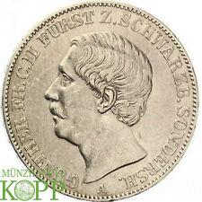 AA2536) SCHWARZBURG SONDERSHAUSEN Taler 1870 Günther Friedrich Carl II 1839-1880