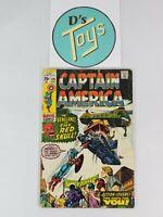Marvel Comics Bronze Age Comic Book Captain America Vol. 1 #129 September 1970