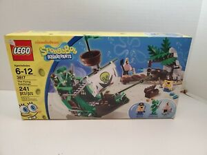 RARE LEGO SpongeBob Squarepants 3817 The Flying Dutchman - NEW in Sealed Box!