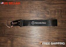 Mercedes Benz Racing Keychain Wrist Lanyard with Metal Keyring - FREE SHIPPING!