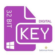 Windows 10 Pro 32 Bit digitaler Aktivierungsschlüssel Product Key OEM Win10