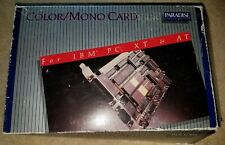 New In Box Paradise Systems Color/Mono Card IBM PC XT AT 5150 5160 5170 Computer