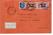 REGNO 1934 BUSTA CON 2 FRANCOBOLLI ANNO SANTO + lire 1.25 REGNO