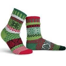Cosy Christmas Mismatched Mistletoe Socks Large 8-10
