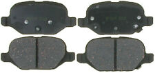 Disc Brake Pad Set-Ceramic Disc Brake Pad Rear 17D1569CH fits 12-17 Fiat 500