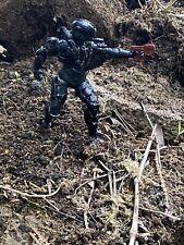 Halo Custom Spartan Head Hunter Figure