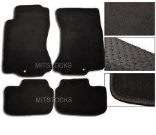 FIT FOR 90-96 NISSAN 300ZX 2+2 BLACK NYLON CARPET FLOOR MATS 4 PIECES