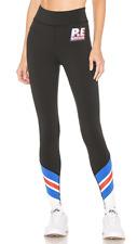 NWT PE Nation Full Toss Black Logo Leggings Bandier carbon38 XS