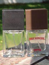 TRUE RELIGION Eau de Toilette Spray and TRUE RELIGION Drifter .25 oz each