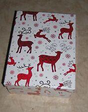 13-40 cm Geschenkschachtel Ravenna Set Weihnachten brombeer 10-tlg