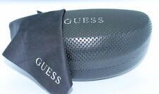 AUTHENTIC & NEW - GUESS BLACK HARD SUNGLASSES CASE