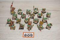 Warhammer Fantasy Goblin Warriors x 20 - LOT 809