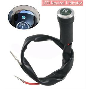 Neutral Reverse Motorcycle N Light Indicator ATV Light Gear for 50cc-250cc Motor