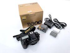 Nikon D d300 12.3 mp SLR-cámara digital body-negro 12 000 desencadenadores