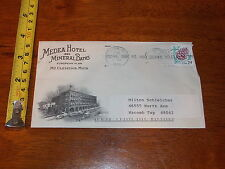 MEDEA HOTEL MINERAL BATHS MT CLEMENS MICHIGAN ENVELOPE 1994