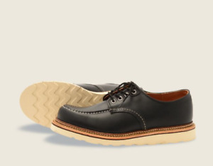 RED WING SHOES CLASSIC OXFORD BLACK 8106