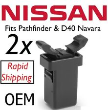 2 Nissan Navara D40 Pathfinder Sunglasses Holder Catch Latch Clip Part No 26430