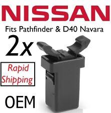 2 Nissan Navara D40 Pathfinder Gafas De Sol Soporte Coger Pestillo Clip parte no 26430