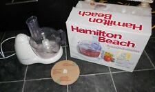 Food Processor Hamilton Beach 70450 6 cup bowl space saving design blade storage