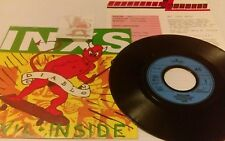 "Inxs Devil Inside  7"" vinyl with press sheet, sticker, WEST GERMANY IMPORT RARE"