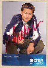 Matthias Dietrich - Verliebt in Berlin -  original signierte Autogrammkarte