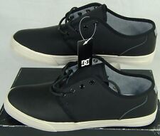 New Mens 13 DC Studio Black Leather Skateboard Shoes $75