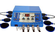 New Physical Therapy Electrotherapy Advanced LED display 4 Channel Equipment ZKT