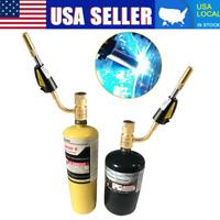 Gas Self Ignition Torch Brazing Soldering Propane Welding Plumbing gun US