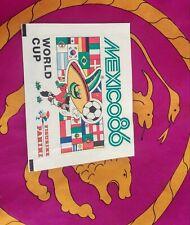 ---> Bustina sigillata Panini MEXICO 86  - WC WM 1986