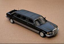 1:43 Mercedes - Benz W126 series Trasco 1000SEL Limousine 1988, Model