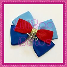 Handmade Large Genie Inspired Aladdin Hair Bow Clip Cosplay Bounding